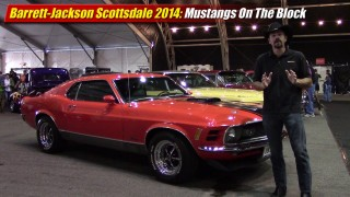 Barrett-Jackson Scottsdale 2014: Mustangs On The Block