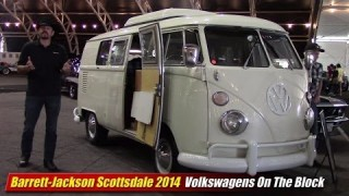 Barrett-Jackson Scottsdale 2014: Volkswagens On The Block