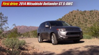 First drive: 2014 Mitsubishi Outlander GT S-AWC