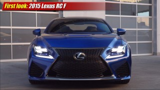 First look: 2015 Lexus RC F