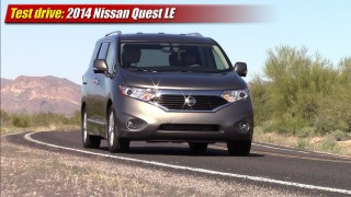 Test drive: 2014 Nissan Quest LE