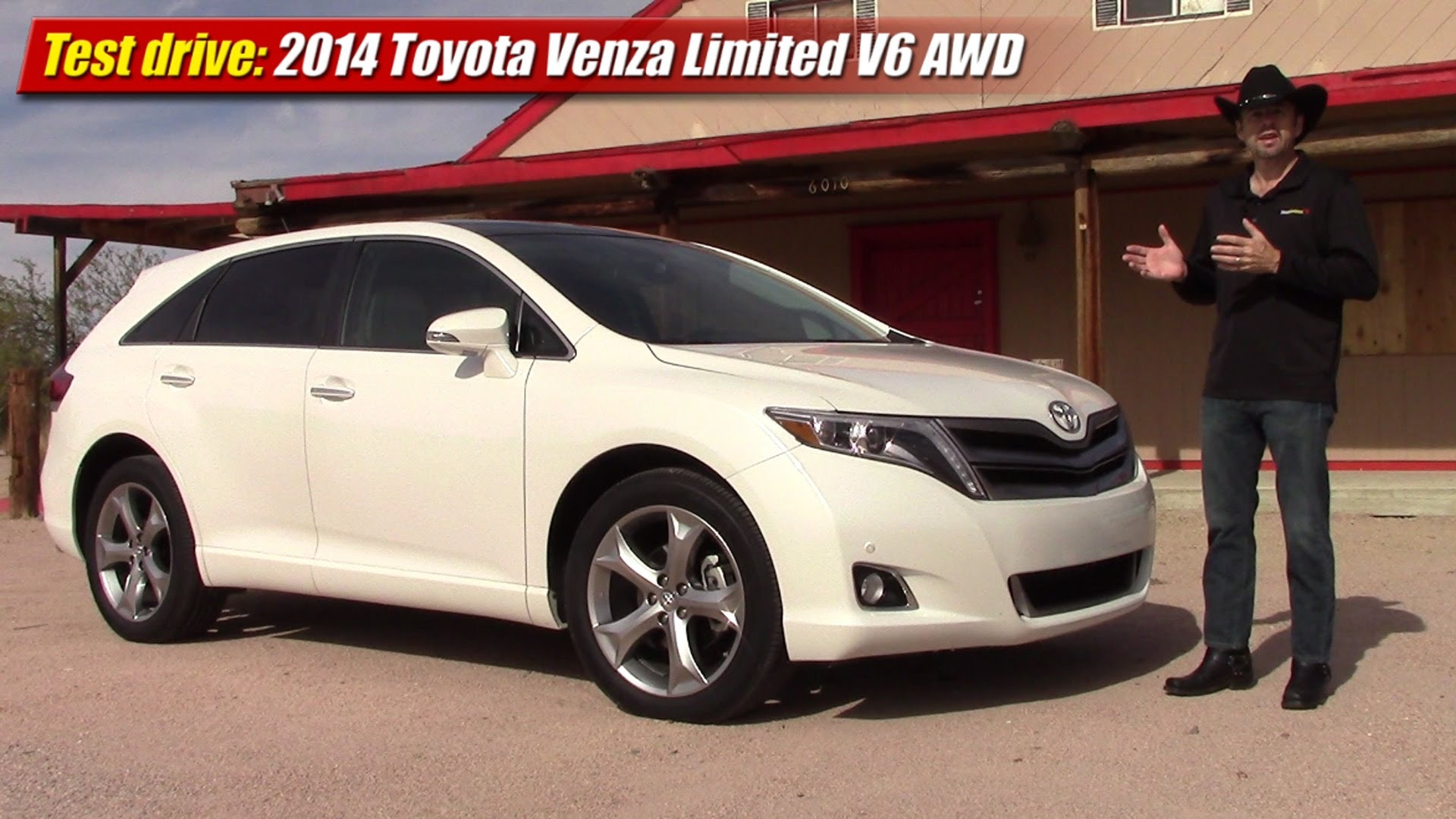 test drive 2014 toyota venza limited v6 awd testdriven tv. Black Bedroom Furniture Sets. Home Design Ideas