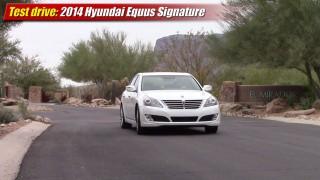 Test drive: 2014 Hyundai Equus Signature