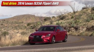 Test drive: 2014 Lexus IS350 F-Sport AWD