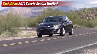 Test drive: 2014 Toyota Avalon Limited