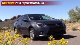 First drive: 2014 Toyota Corolla ECO