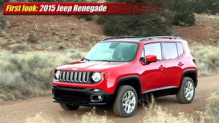 First look: 2015 Jeep Renegade