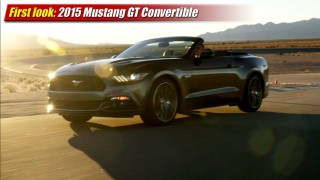 First look: 2015 Mustang GT Convertible