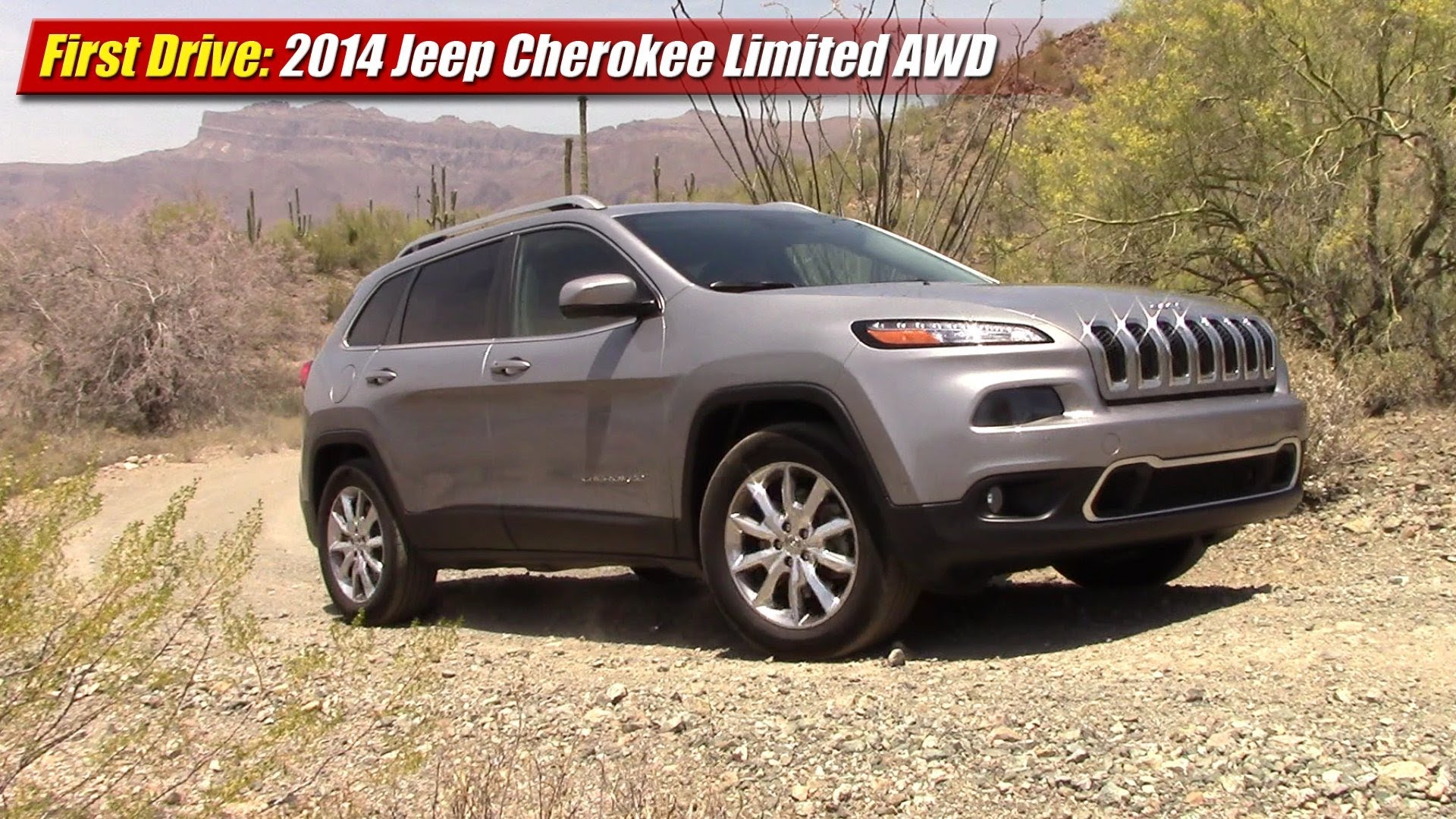 First Drive: 2014 Jeep Cherokee Limited AWD - TestDriven.TV