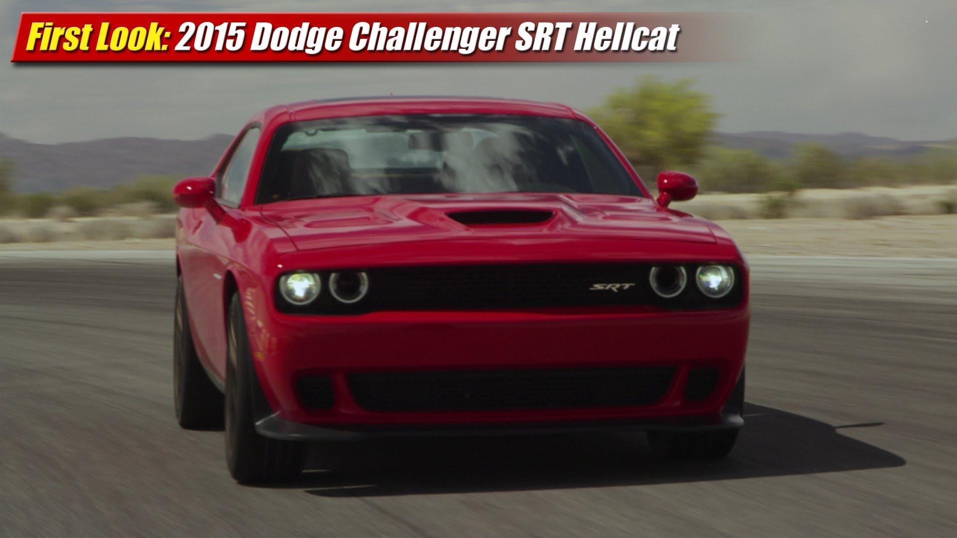 First Look: 2015 Dodge Challenger SRT Hellcat - TestDriven.TV