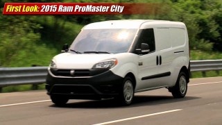 First Look: 2015 Ram ProMaster City Cargo Van