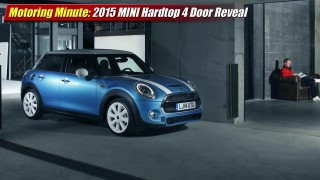 Motoring Minute: 2015 MINI Hardtop 4 Door
