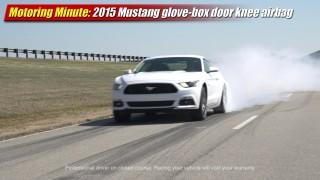 Motoring Minute: 2015 Mustang glove-box door knee airbag
