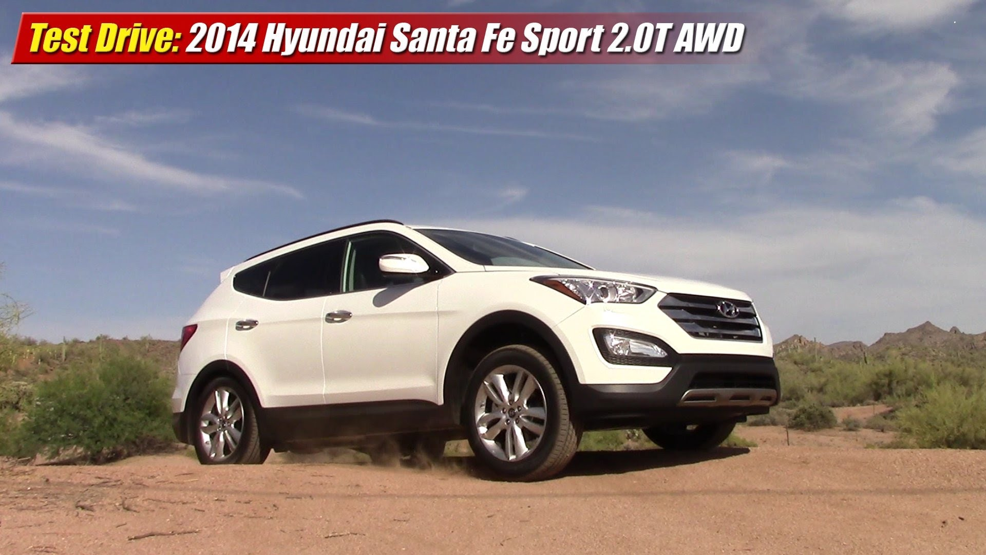 test drive 2014 hyundai santa fe sport 2 0 awd testdriven tv. Black Bedroom Furniture Sets. Home Design Ideas