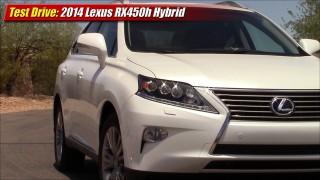 Test Drive: 2014 Lexus RX450h Hybrid