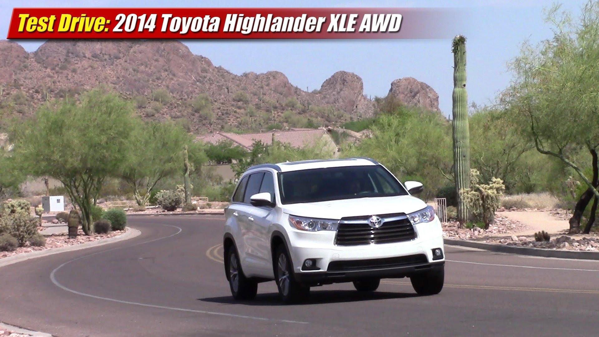 тест драйв Toyota Хайлендер 2014
