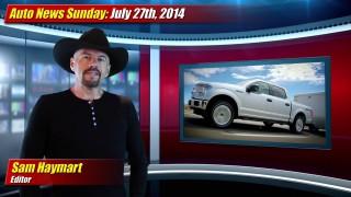 Auto News Sunday: July 27th, 2014