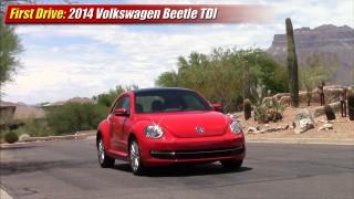 First Drive: 2014 Volkswagen Beetle TDI