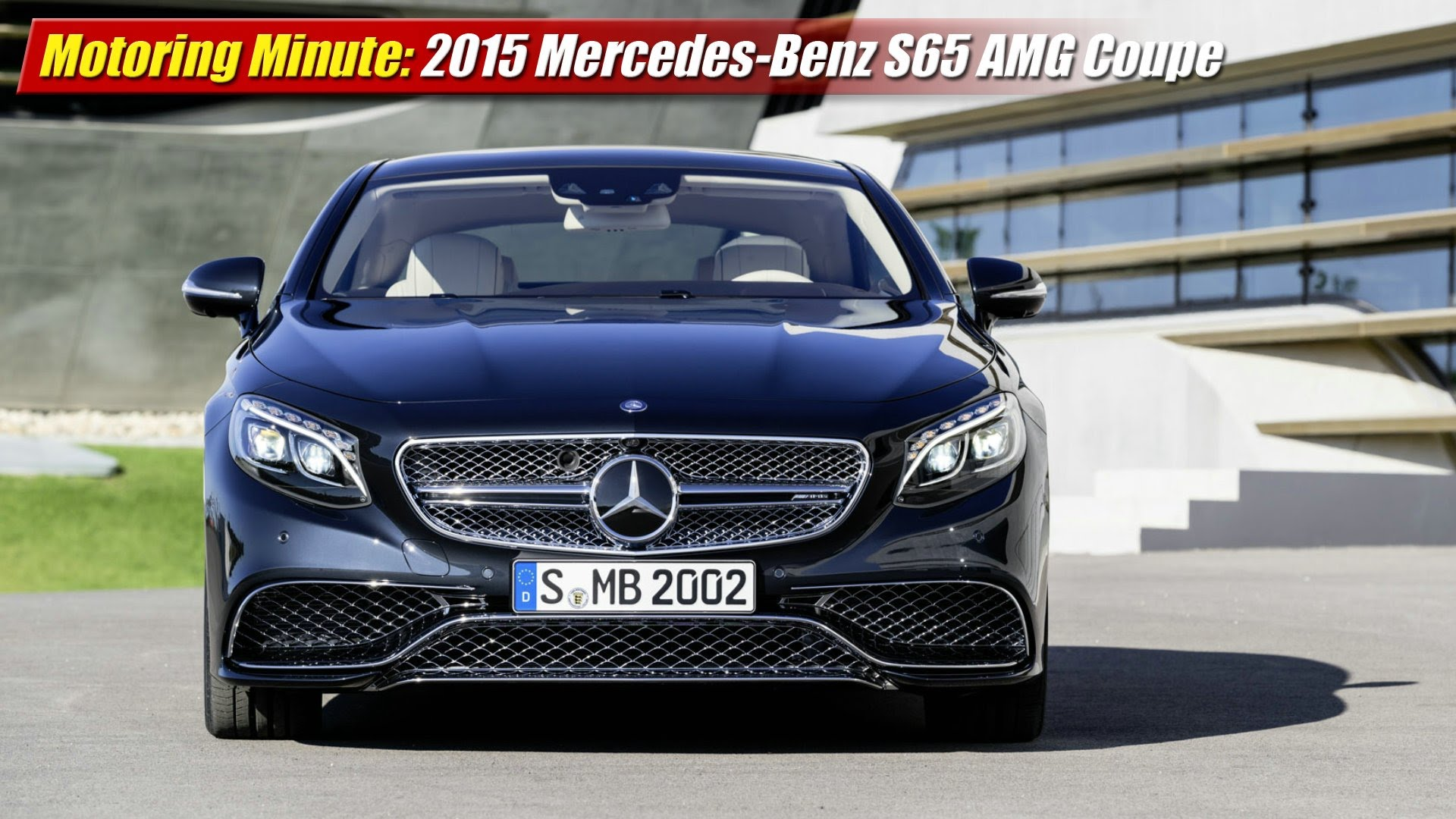 Motoring minute 2015 mercedes benz s65 amg coupe for Mercedes benz s65 amg 2014