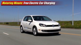 Motoring Minute: Free electric car charging