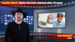 Reality Check: Stolen Corvette returned after 33 years