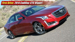 First Drive: 2104 Cadillac CTS VSport