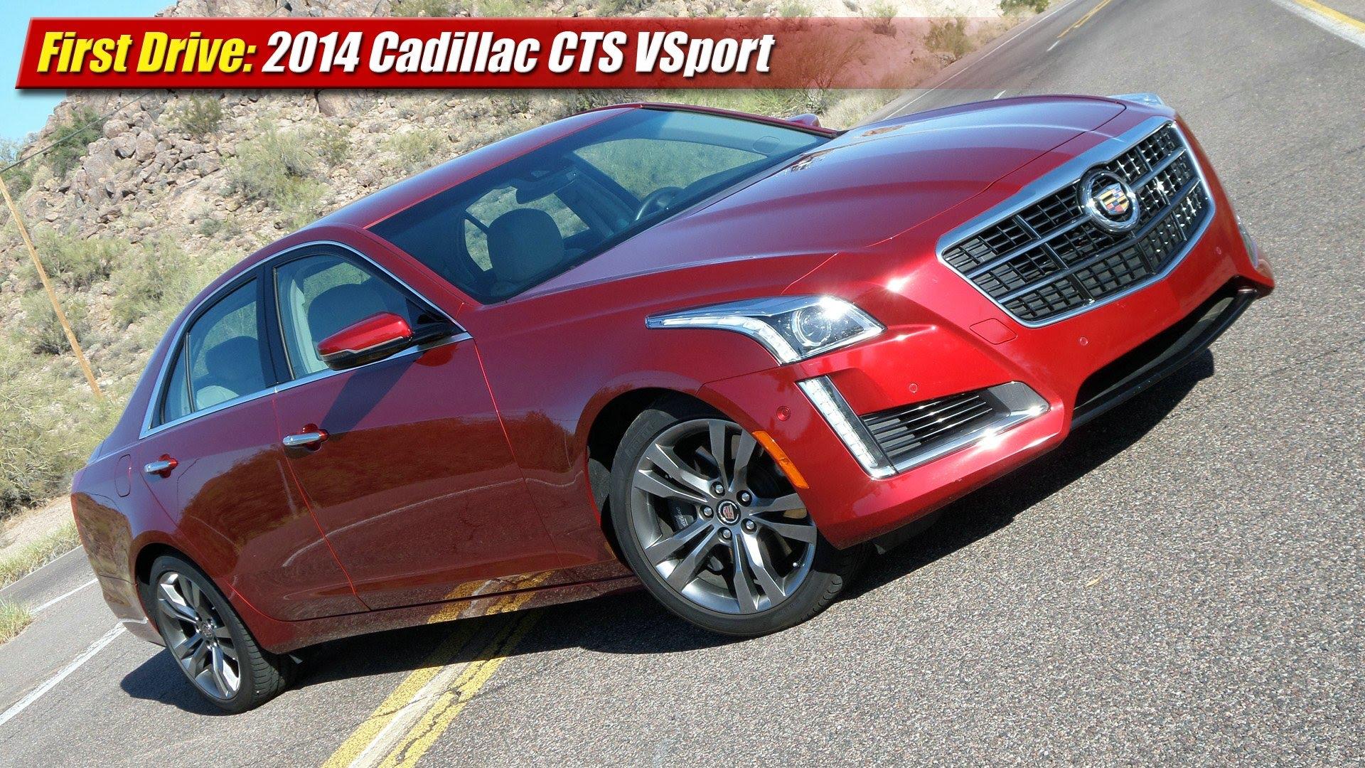 First Drive 2104 Cadillac Cts Vsport Testdriven Tv