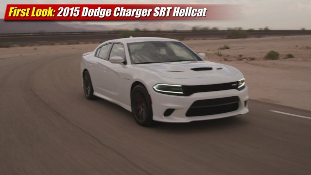 First Look: 2015 Dodge Charger SRT Hellcat