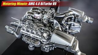 Motoring Minute: AMG BiTurbo V8