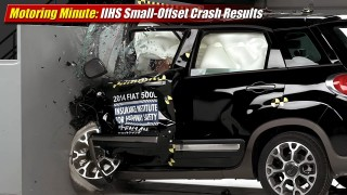 Motoring Minute: IIHS Small-Offset Crash Results