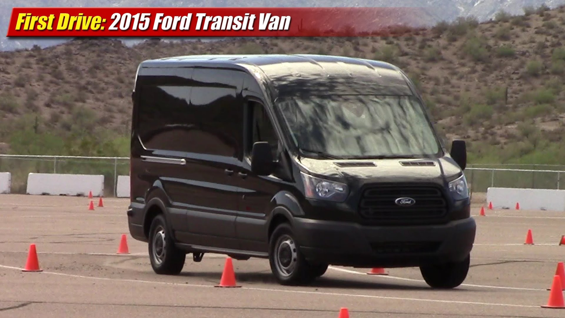 first drive 2015 ford transit van testdriven tv. Black Bedroom Furniture Sets. Home Design Ideas