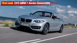 First Look: 2015 BMW 2 Series Convertible