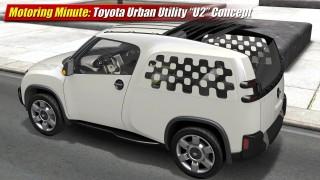 "Motoring Minute: Toyota Urban Utility ""U2"" Concept"