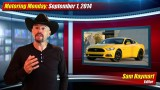Motoring Monday: September 1, 2014