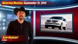 Motoring Monday: September 15, 2014