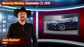 Motoring Monday: September 22, 2014