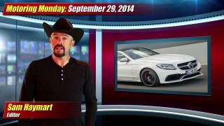 Motoring Monday: September 29, 2014