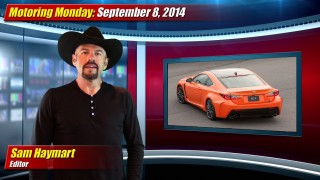 Motoring Monday: September 8, 2014
