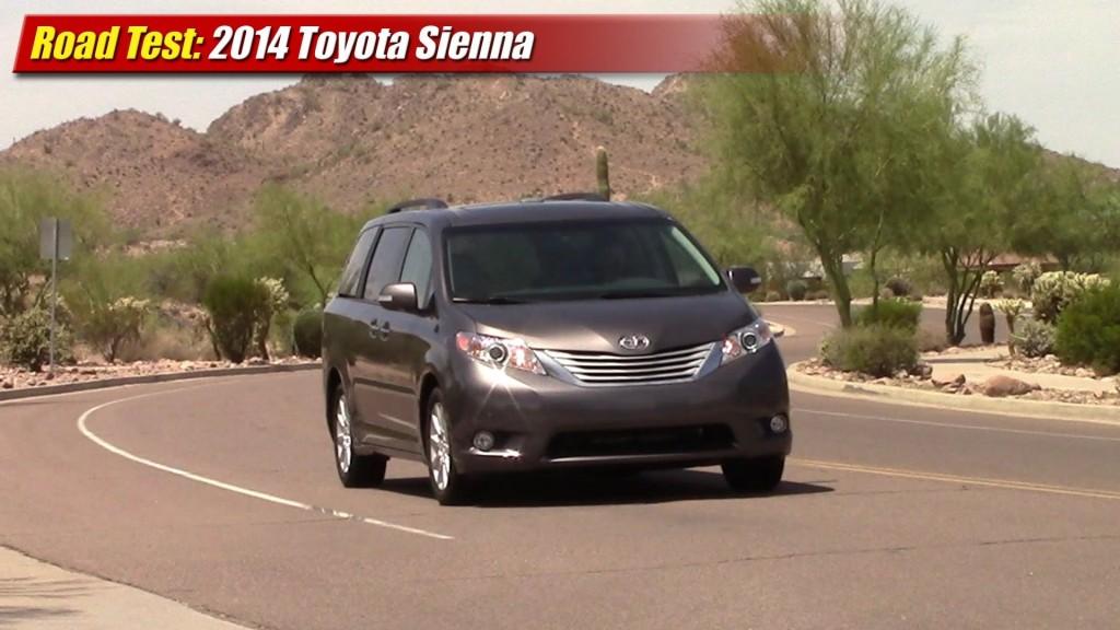 Road Test: 2014 Toyota Sienna Limited AWD - TestDriven.TV