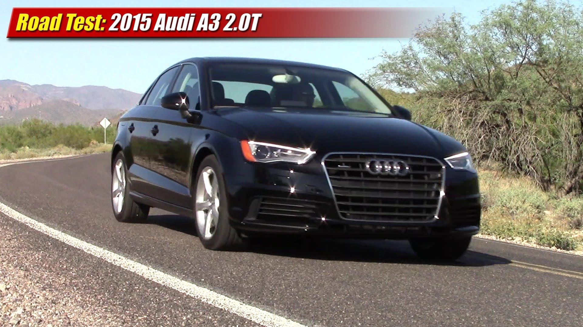Audi 2 0 T >> Road Test 2015 Audi A3 2 0t Quattro Testdriven Tv