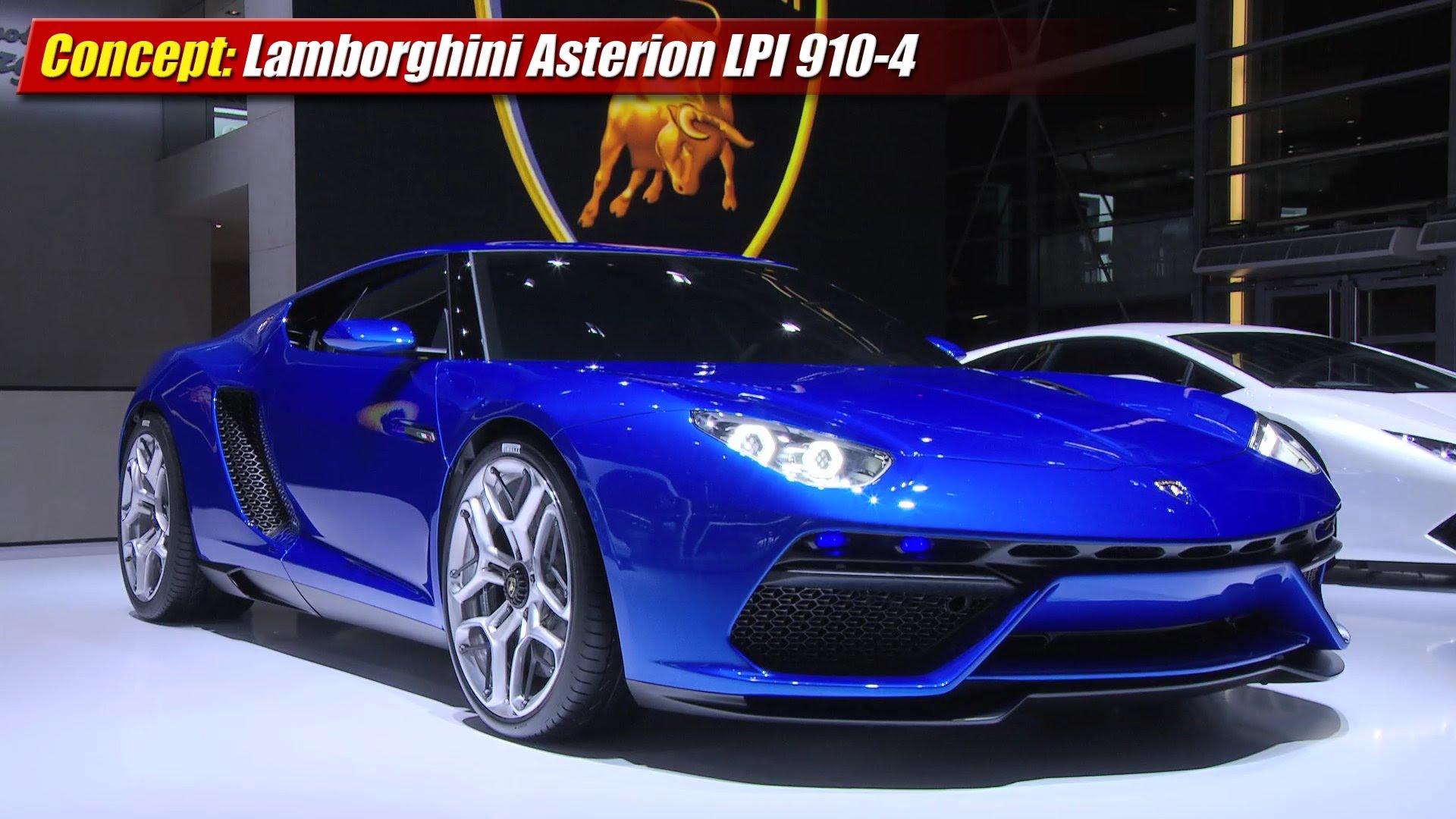 Concept Lamborghini Asterion Lpi 910 4 Testdriven Tv
