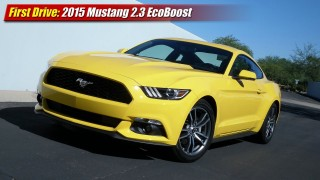 First Drive: 2015 Mustang 2.3 EcoBoost