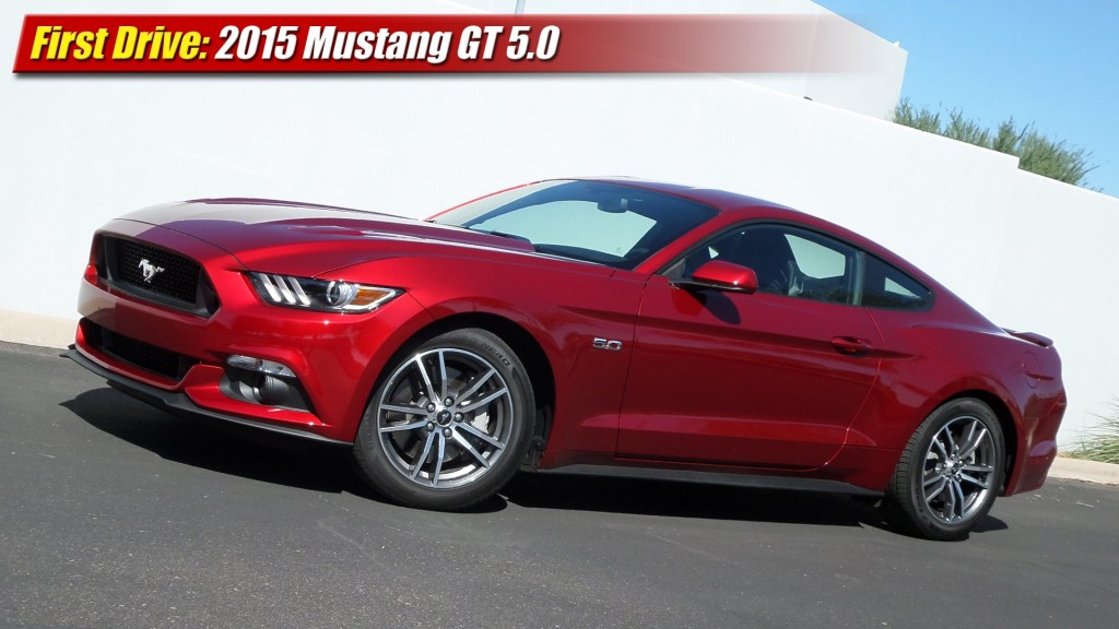 first drive 2015 mustang gt 5 0 testdriven tv. Black Bedroom Furniture Sets. Home Design Ideas