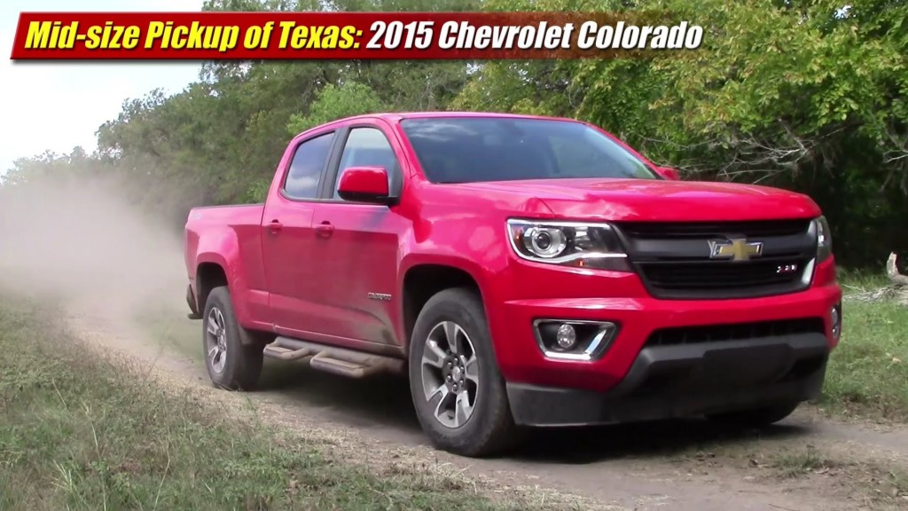 mid size pickup of texas 2015 chevrolet colorado testdriven tv. Black Bedroom Furniture Sets. Home Design Ideas