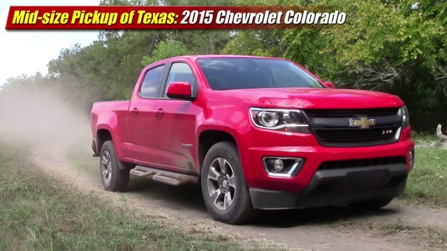 Mid-size Pickup of Texas: 2015 Chevrolet Colorado