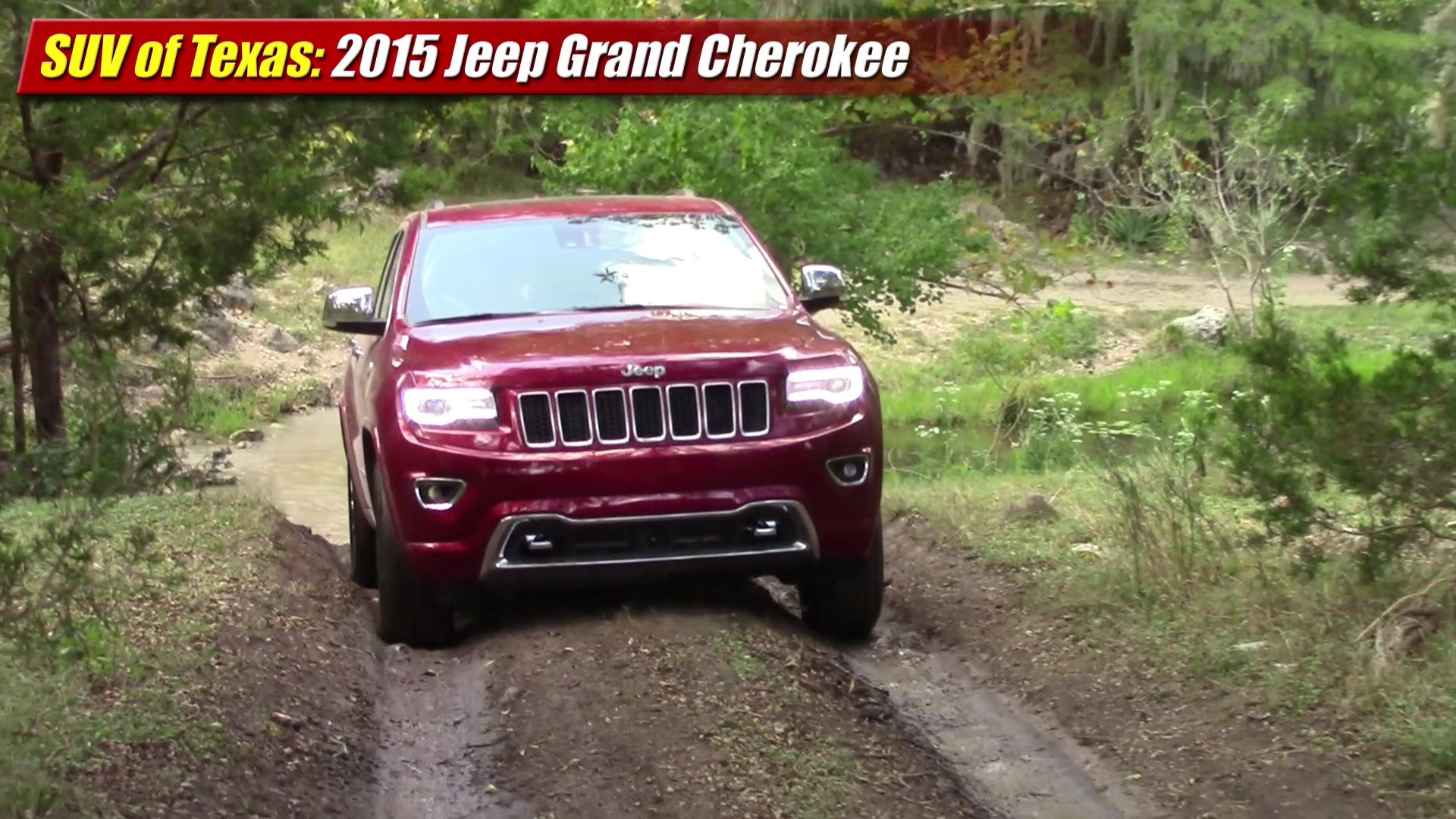 suv of texas 2015 jeep grand cherokee testdriven tv. Black Bedroom Furniture Sets. Home Design Ideas