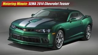 Motoring Minute: SEMA Show 2014 Chevrolet Teaser
