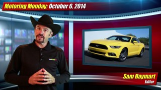 Motoring Monday: October 6, 2014