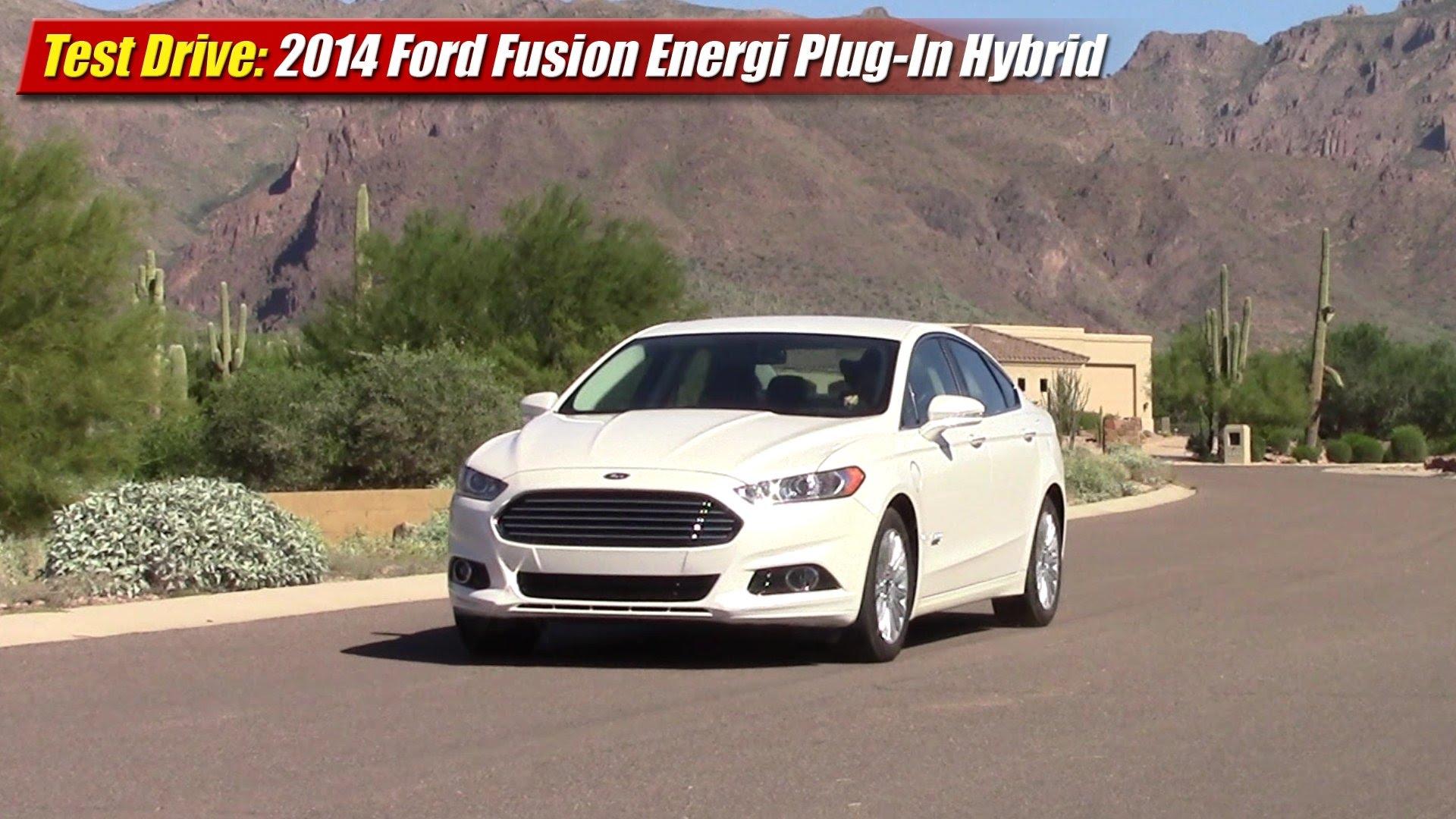 test drive 2014 ford fusion energi plug in hybrid testdriven tv. Black Bedroom Furniture Sets. Home Design Ideas