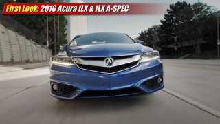 First Look: 2016 Acura ILX & ILX A-SPEC